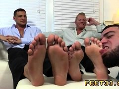 Free gay porn male zone Ricky Worships Johnny & Joey's