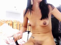 Fucking cumshot on shemales small tits
