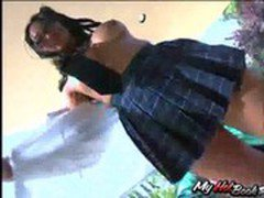 Mika Tan is a wild and sexy Asian schoolgirl, who