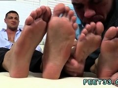 Mexican boy legs gay Ricky Worships Johnny & Joey's Feet