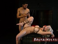 Amazon bondage first time Big-breasted light-haired