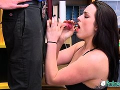 Raven gets strip searched and drilled