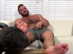 Free emo gay sex feet sock Aaron Bruiser Lets Me Worship