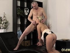 Hairy old granny anal and pussy She is so magnificent in