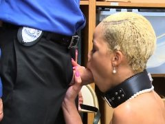 Black hottie gets stripped searched