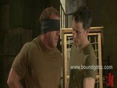 Derek Pain bound and tortured by Master Avery