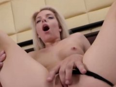Blonde beauty gets her asshole fucked