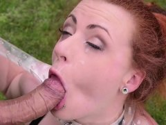 Naughty guy makes Cindy moan loudly
