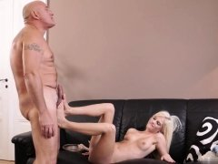 New step daddy and hairy old grannies fucking Horny