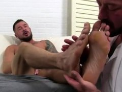 Gay male legs up anal xxx Dolf's Foot Doctor Hugh Hunter