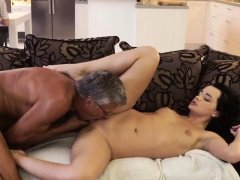 Old man fucks big tits milf and daddy car What would you