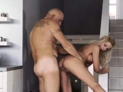 Old men fuck her xxx Finally at home, finally alone!