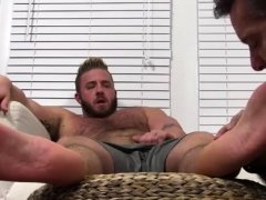 Dakota shine feet fetish gay Aaron Bruiser Lets Me