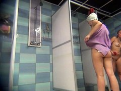 Hidden cam teen girl in a shower 02
