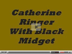 Vintage C. Ringer And Black Midget  N15