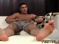 Real boys legs open wide and gay actors feet Daddy Dev