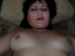 Russian mature mom fuck with boy