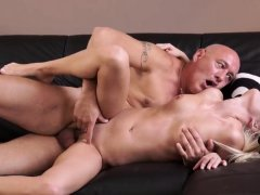 Young old man hd Horny blondie wants to attempt someone