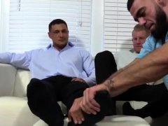 Older male feet gay Ricky Worships Johnny & Joey's Feet