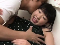 Glamor barely legal eastern Miku Aono fucked on cam
