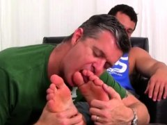 Gay gangster foot porn Marine Ned Dominates Me With His