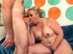 Big Ass Mature Summer Rides a Hard Cock