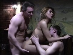 Russian Teen in Mmf Porn