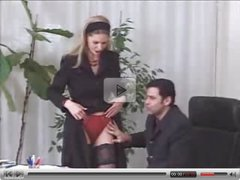 Hot Secretary lets all her Bosses fuck her...F70