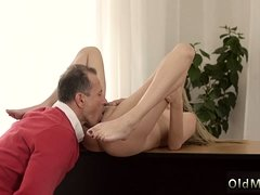 Daddy licks playmate' companion's daughter Stranger in a