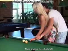Wild fucking with sexy girls in friend's cottage