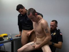 Cop gay cock Two daddies are better than one