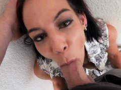 Milf kisses and seduces She would give it to him, but he