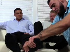 Gay smell foot Ricky Worships Johnny & Joey's Feet