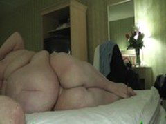 SSBBW fucked by lover in hotel.