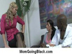 Big black cock on my mom Interracial porn video 28