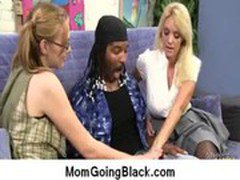 Big black cock on my mom Interracial porn video 4