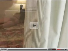 Young Girl masturbates in Hotel room
