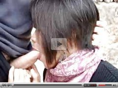 Blowjob asian french