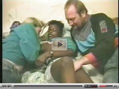 Pervet couple paid young black hooker. Home made