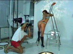Simony Diamond strikes a pose and satisfies cock