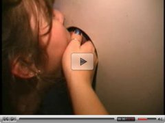 Lovely amateur at the glory hole scene 02