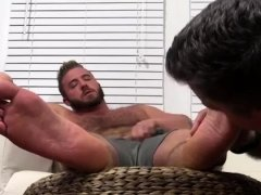 Gay men toes in guys ass Aaron Bruiser Lets Me Worship
