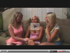 Awesome First Time Teen Lesbian  Threesome