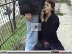 hot french girl public double dick