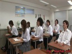 Hot Japanese teachers and lots of sex