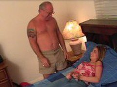 Lyzia Lee &amp_ Uncle Jesse BJ and Facial