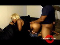 Ebony Teen Loves Making Home Made Ghetto Video