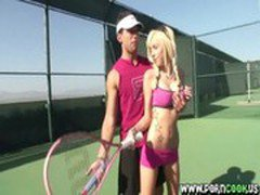 Let me show you how to play tennis