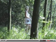 Outdoor -Fick im Wald