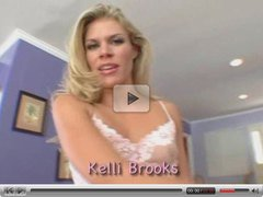 Kelly Brooks - hot blonde fuck, squirtting, swalow all